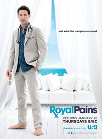 Royal Pains (3ª Temporada) - Poster / Capa / Cartaz - Oficial 1