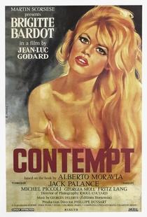 O Desprezo - Poster / Capa / Cartaz - Oficial 13