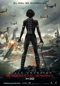 Resident Evil 5: Retribuição - Poster / Capa / Cartaz - Oficial 3
