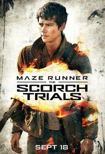 Maze Runner: Prova de Fogo - Poster / Capa / Cartaz - Oficial 8
