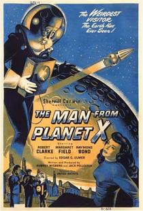 O Homem do Planeta X - Poster / Capa / Cartaz - Oficial 2