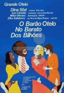 O Barão Otelo no Barato dos Bilhões - Poster / Capa / Cartaz - Oficial 1
