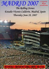 Rolling Stones - Madrid 2007 - Poster / Capa / Cartaz - Oficial 1