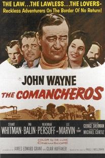 Os Comancheros - Poster / Capa / Cartaz - Oficial 1