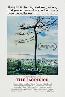O Sacrifício - Poster / Capa / Cartaz - Oficial 11