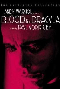 Sangue para Drácula - Poster / Capa / Cartaz - Oficial 1