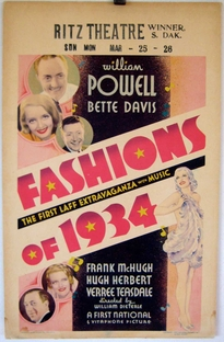 Modas de 34 - Poster / Capa / Cartaz - Oficial 3