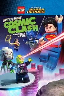 Lego Liga da Justiça - Combate Cósmico - Poster / Capa / Cartaz - Oficial 1
