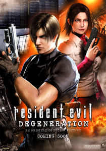 Resident Evil: Degeneração - Poster / Capa / Cartaz - Oficial 3