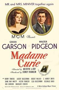Madame Curie - Poster / Capa / Cartaz - Oficial 2