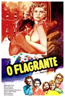O Flagrante - Poster / Capa / Cartaz - Oficial 1
