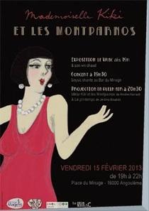 Kiki de Montparnasse - Poster / Capa / Cartaz - Oficial 1