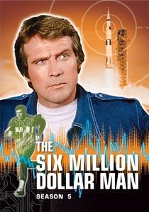 O Homem de Seis Milhões de Dólares (5ª Temporada)  - Poster / Capa / Cartaz - Oficial 1