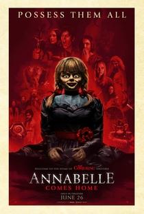 Annabelle 3: De Volta Para Casa - Poster / Capa / Cartaz - Oficial 3