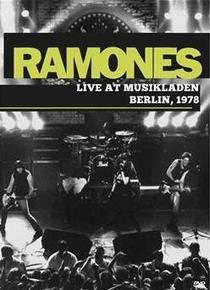 Ramones - Live At Musikladen Berlin - Poster / Capa / Cartaz - Oficial 1