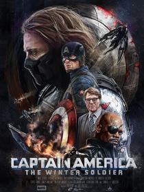 Capitão América 2: O Soldado Invernal - Poster / Capa / Cartaz - Oficial 18