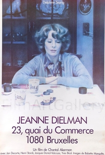 Jeanne Dielman - Poster / Capa / Cartaz - Oficial 3