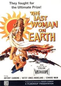A Última Mulher Sobre a Terra - Poster / Capa / Cartaz - Oficial 1