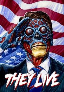 Eles Vivem - Poster / Capa / Cartaz - Oficial 2