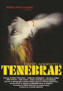 Tenebre - Poster / Capa / Cartaz - Oficial 17