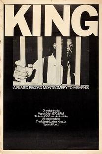 King: A Filmed Record... Montgomery to Memphis - Poster / Capa / Cartaz - Oficial 1