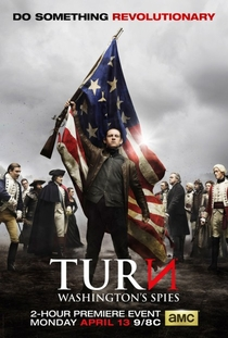TURN  (2ª Temporada) - Poster / Capa / Cartaz - Oficial 1
