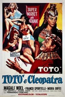 Totò e Cleopatra - Poster / Capa / Cartaz - Oficial 1