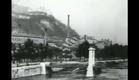 Panorama de L'Arrivee en gare de Perrache pris du Train arrival (1896) - LOUIS LUMIERE