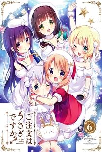 Gochuumon wa Usagi Desu ka? (1ª Temporada) - Poster / Capa / Cartaz - Oficial 5
