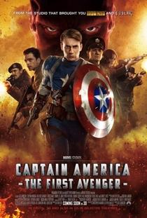 Capitão América: O Primeiro Vingador - Poster / Capa / Cartaz - Oficial 3