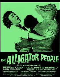 The Alligator People - Poster / Capa / Cartaz - Oficial 2