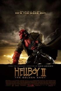 Hellboy II: O Exército Dourado - Poster / Capa / Cartaz - Oficial 4