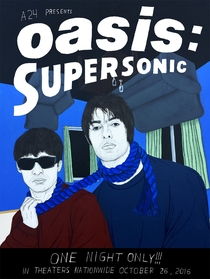 Oasis: Supersonic - Poster / Capa / Cartaz - Oficial 4