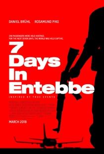 7 Dias em Entebbe - Poster / Capa / Cartaz - Oficial 2