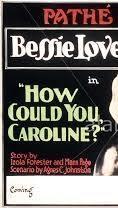 How Could You, Caroline? - Poster / Capa / Cartaz - Oficial 1