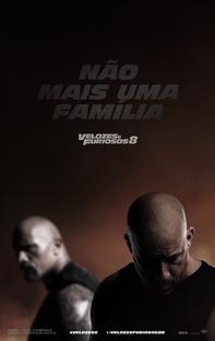 Velozes e Furiosos 8 - Poster / Capa / Cartaz - Oficial 6
