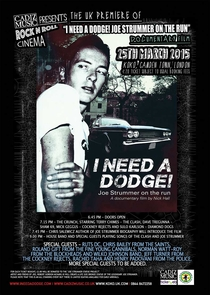 I Need a Dodge! Joe Strummer on the Run - Poster / Capa / Cartaz - Oficial 1