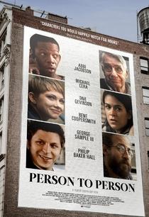 Person to Person - Poster / Capa / Cartaz - Oficial 1