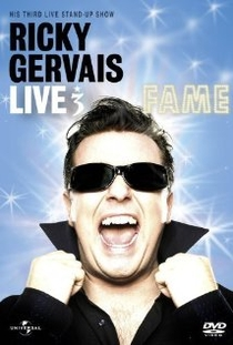 Ricky Gervais Live 3: Fame - Poster / Capa / Cartaz - Oficial 1