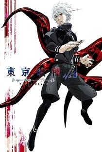 Tokyo Ghoul (2ª Temporada) - Poster / Capa / Cartaz - Oficial 4