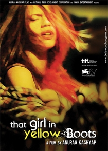 That Girl in Yellow Boots - Poster / Capa / Cartaz - Oficial 3