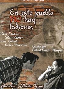 En este pueblo no hay ladrones - Poster / Capa / Cartaz - Oficial 1