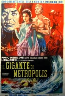 O Gigante de Metrópolis - Poster / Capa / Cartaz - Oficial 1