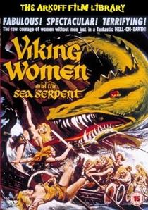 A Mulher Viking e A Serpente Marinha - Poster / Capa / Cartaz - Oficial 1
