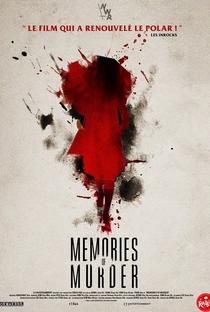 Memórias de um Assassino - Poster / Capa / Cartaz - Oficial 10