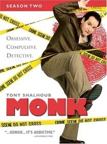 Monk: Um Detetive Diferente (2ª Temporada) - Poster / Capa / Cartaz - Oficial 1