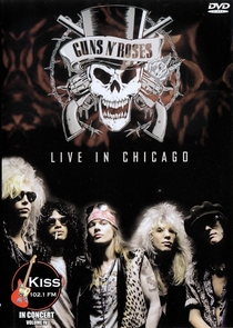 Guns n' Roses - Live In Chicago - Poster / Capa / Cartaz - Oficial 1
