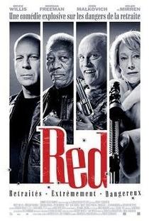 Red - Aposentados e Perigosos - Poster / Capa / Cartaz - Oficial 2