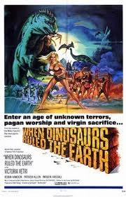 Quando os Dinossauros Dominavam a Terra - Poster / Capa / Cartaz - Oficial 1