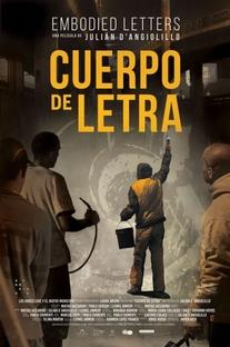 Cuerpo de Letra - Poster / Capa / Cartaz - Oficial 1